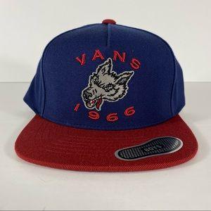 Vans 1966 Wolf Logo Snapback Hat
